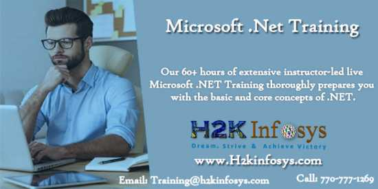 Dotnet Online Training with Certification by H2KIn