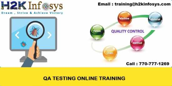 QA Online Training Classes and Job Assistance