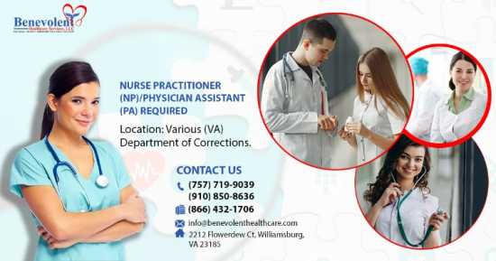 NURSE PRACTITIONER (NP)/PHYSICIAN ASSISTANT (PA)
