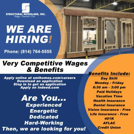 Looking for Experienced Construction Workers